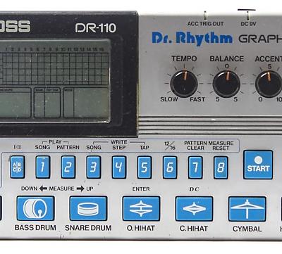 Boss DR-110