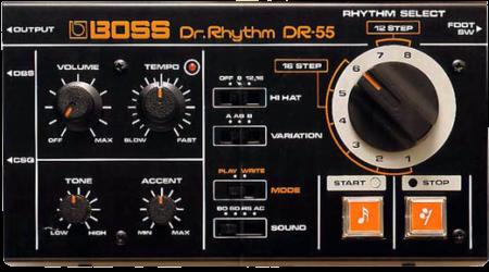 Boss DR-55