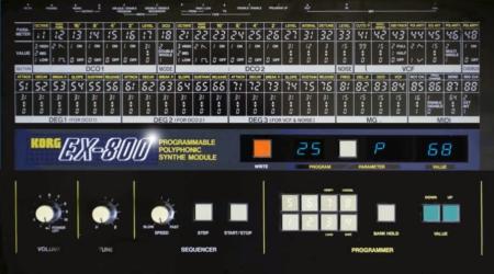 Korg EX-800